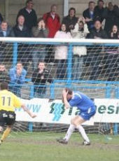 Paul Sykes equalises for Southport