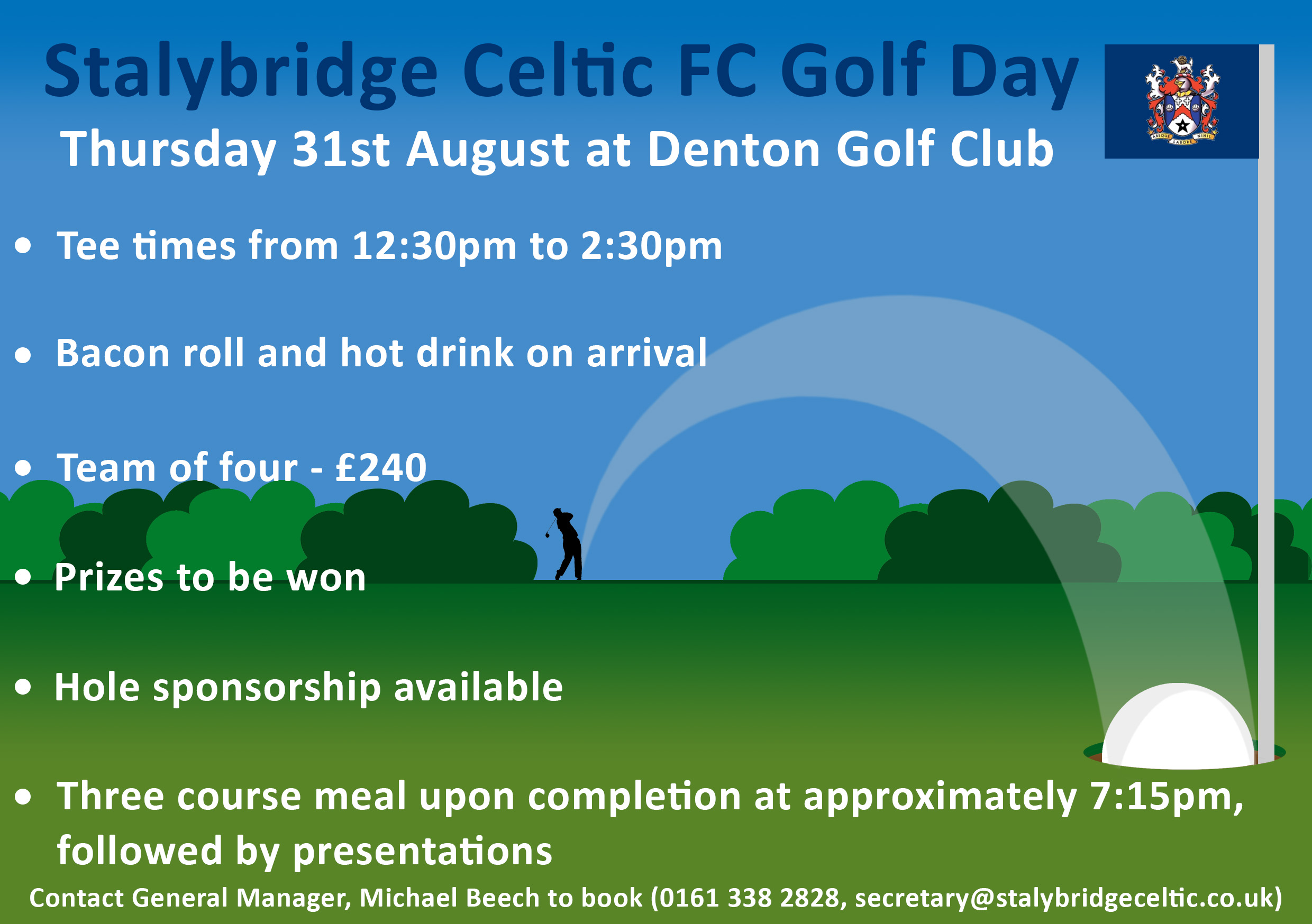 Celtic ready to Tee off at annual Golf Day