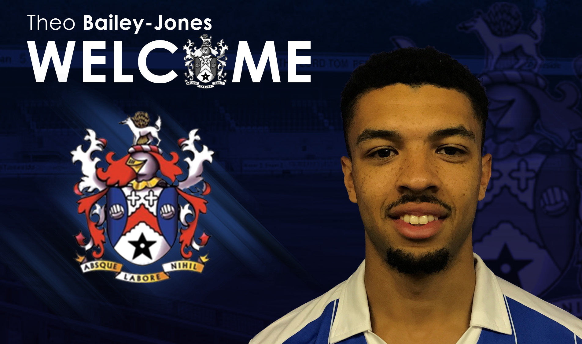 Theo Bailey-Jones is signing number 16!